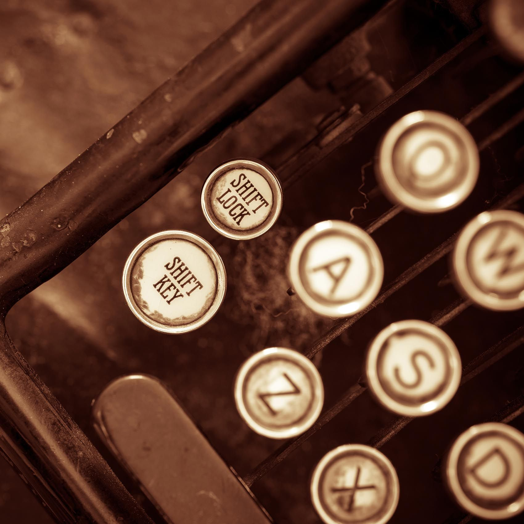 vintage contact buttons